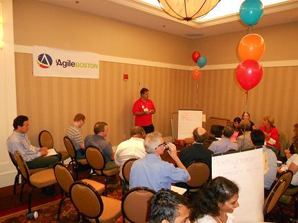 Dan LeFebvre sending his Agile Coaching knowledge into the community