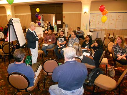Agile Day in Boston Open Space; Over 45 sessions convened